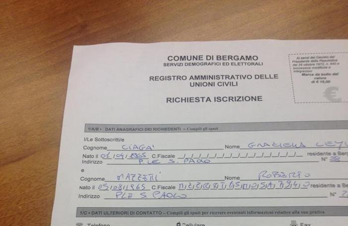 L'iscrizione al registro