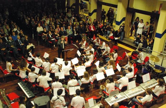 L'orchestra delle scuole primarie sperimentali a indirizzo musicale di Bergamo
