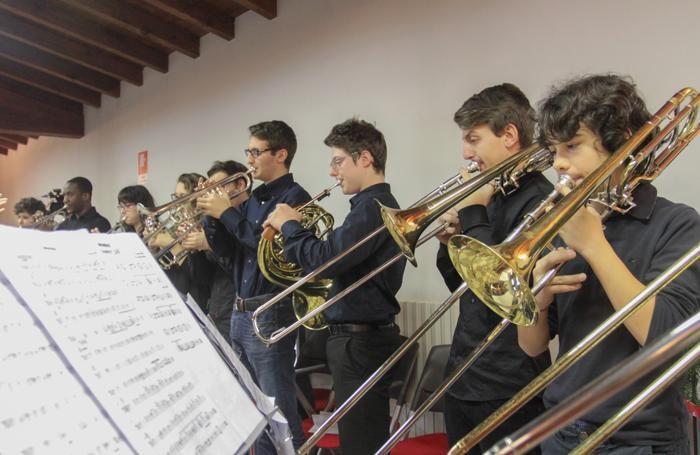 La «Big Band» del «Secco Suardo»