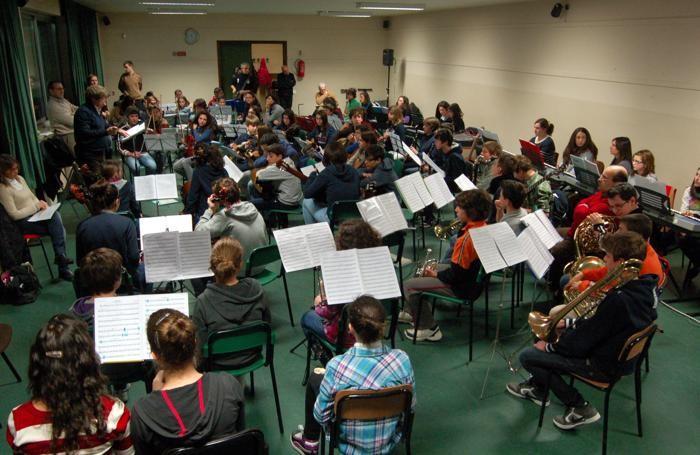 L'orchestra «Maggio in 7 note»