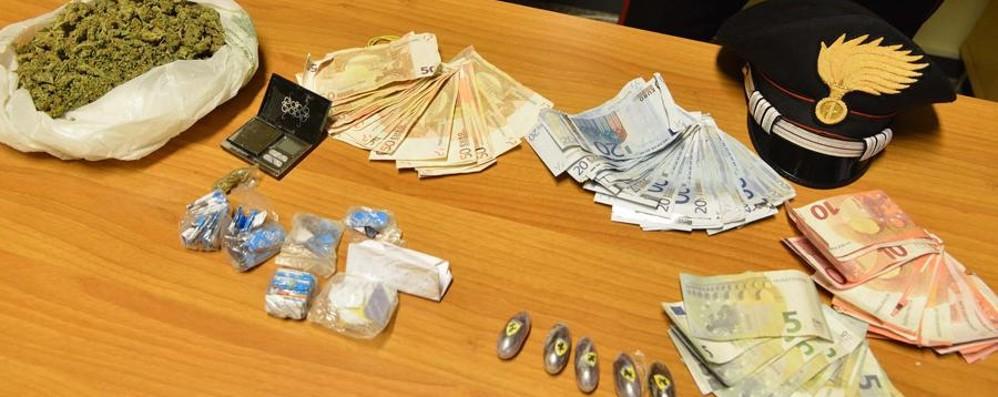 Quattro arresti dopo il rave a Fara - foto Sequestrate anche 44 buste di ketamina