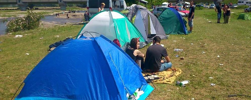 Rave nel parco a Fara Olivana  Arriva la multa per un organizzatore