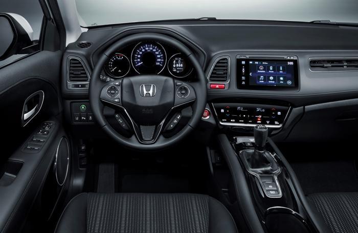 L'interno della nuova Honda HR-V