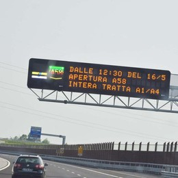 Teem, apre la gemella di Brebemi  Milano più vicina - foto e video