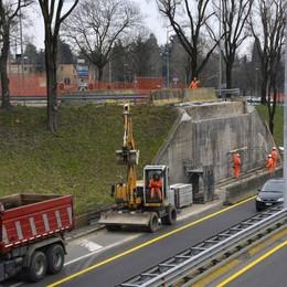 Monterosso, prove al nuovo viadotto Mercoledì circonvallazione chiusa