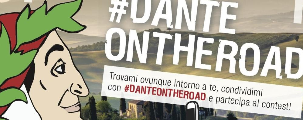 È arrivato «Dante On the Road» Viaggio social alla scoperta del poeta