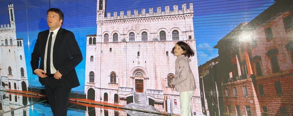 Expo, Renzi nel Padiglione Italia Ecco le foto esclusive della visita