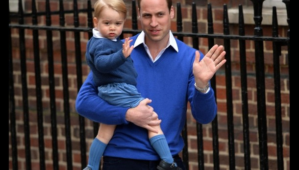 Royal girl, Will in clinica con George
