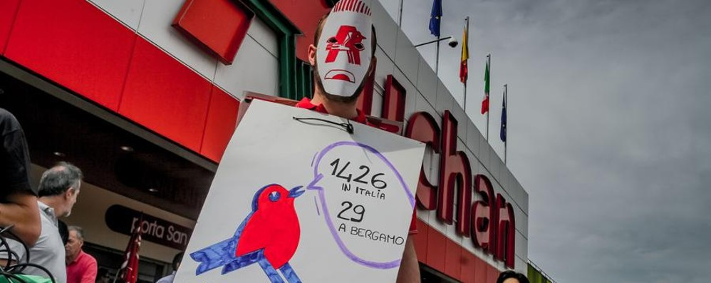 Auchan: incentivi a chi se ne va Ma no ad ammortizzatori sociali