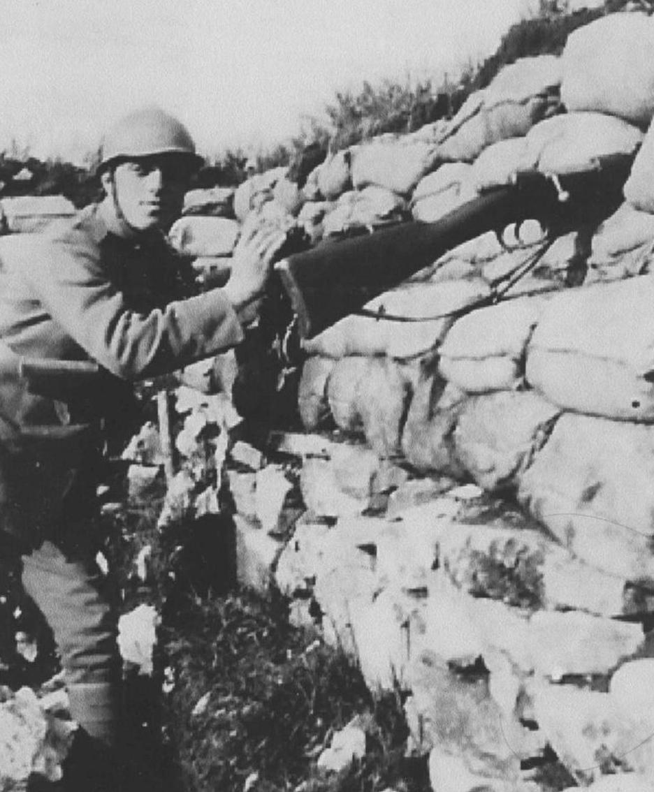 Una foto relativa alla Grande Guerra su gentile concessione dell'Archivio della memoria