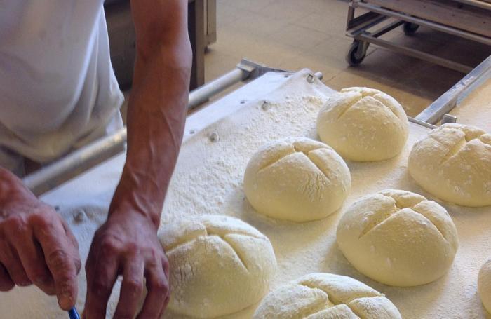 La lavorazione del pane per celiaci