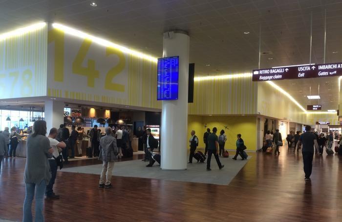 La nuova area dell'aeroporto di Orio al Serio