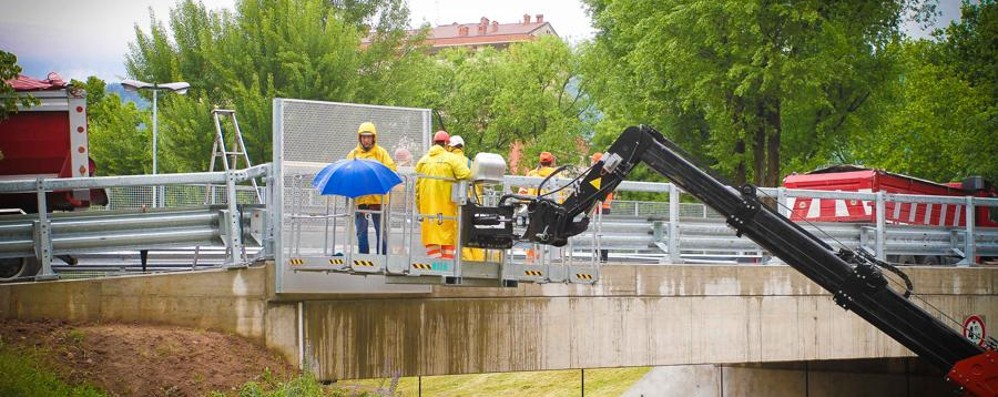 Riapre il ponte di Monterosso Giovedì inaugurazione ufficiale