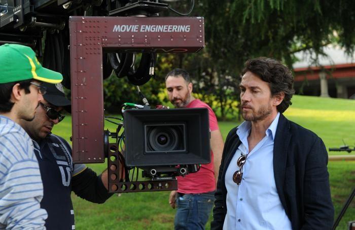Il set del film: Alessio Boni è originario proprio di Sarnico