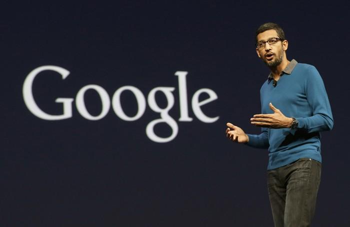 Sundar Pichai, vicepresidentre di  Android, Chrome and Apps a San Francisco