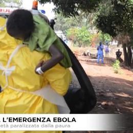 Ebola: tutti avevano paura. la società si è fermata