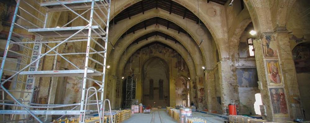 Sant'Agostino, dentro il cantiere Aula magna dell'ateneo ok a settembre