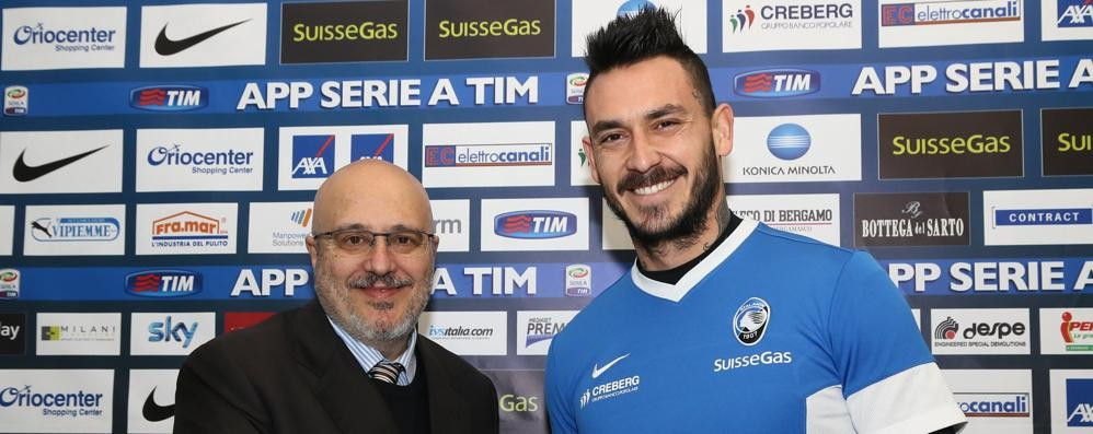 Marino: il mio futuro è con l'Atalanta «E resta a Bergamo anche Pinilla»