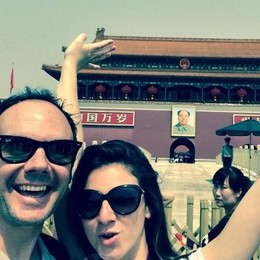 Cato e Valeria, missione compiuta Il viaggio solidale si è concluso  a Pechino