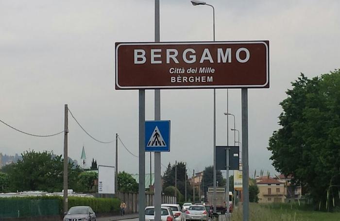 I nuovi cartelli all'ingresso della città