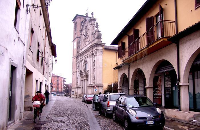 Il centro storico di Brembate