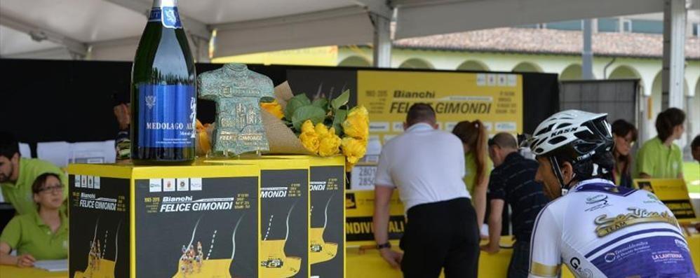 Granfondo Gimondi, è tutto pronto Da trenta Nazioni per la kermesse