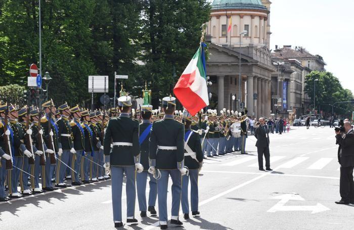 Il giuramento dei cadetti della Guardia di Finanza