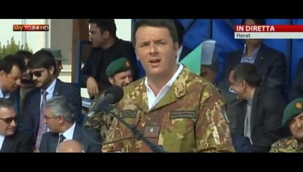 Afghanistan:Renzi,sforzo in più per pace