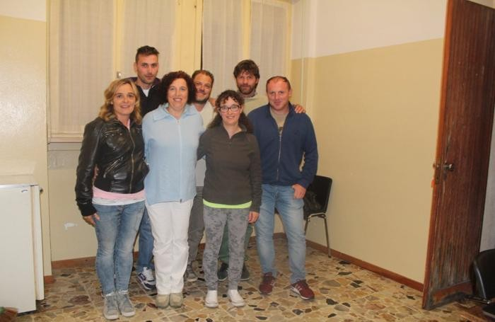 Valentina Zuccala con il suo gruppo