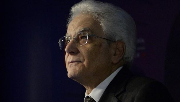 Mattarella, stop criminalità in Stato