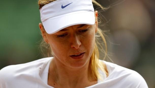 Roland Garros: Sharapova eliminata