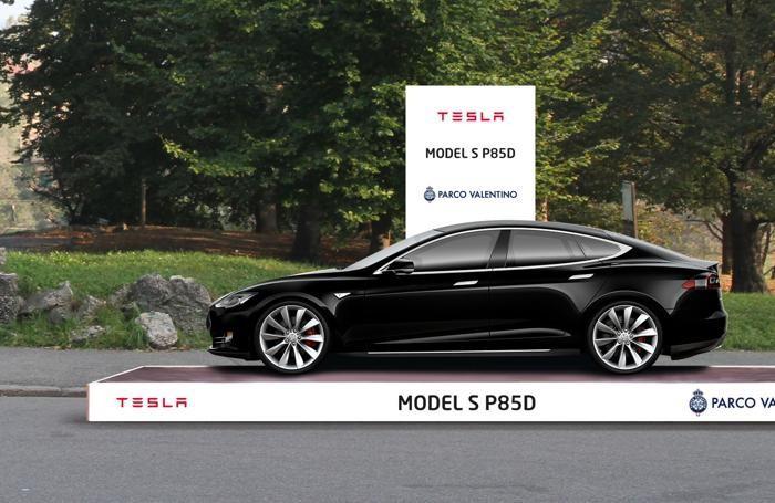 La Tesla al Parco Valentino di Torino