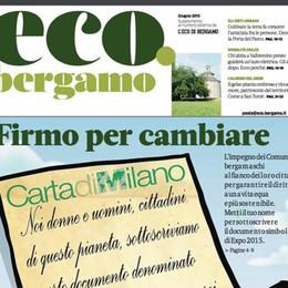 In edicola gratis la rivista eco.bergamo