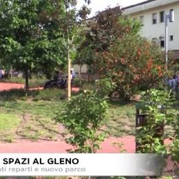 Gleno: inaugurazione reparti e nuovo parco