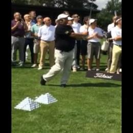 Lezione di golf all'Albenza con Costantino Rocca