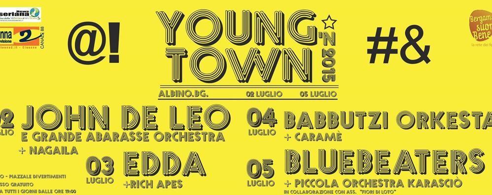 Arriva il Young'n Town Festival 4 giorni di musica ad Albino - Video