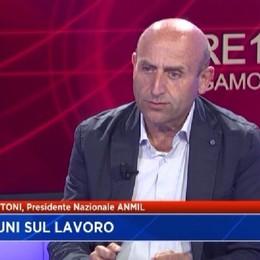 Infortuni sul lavoro: Bettoni presidente ANMIL
