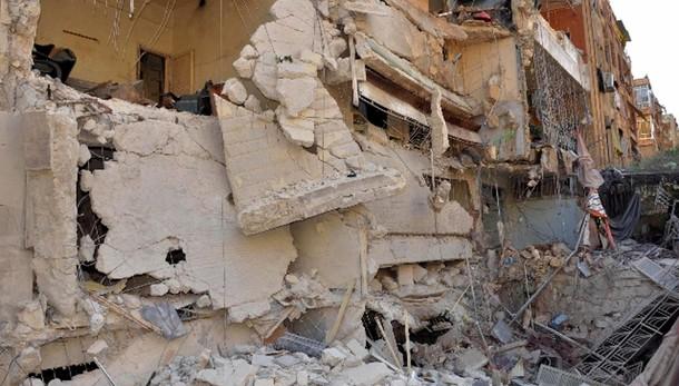 Siria, 34 morti in bombardamento Aleppo