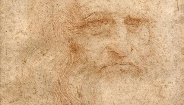 Autoritratto Leonardo arriva a Roma