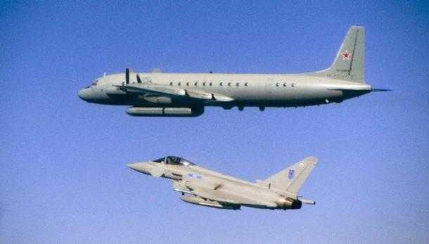 Raf intercetta jet russi sul Baltico