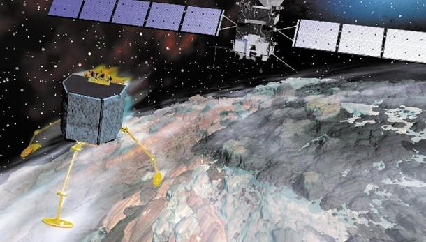 Sonda Rosetta si è avvicinata a cometa