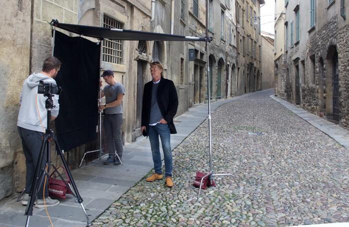 Il set fotografico con Stromberg