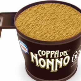 Buon gelato (al caffè) a tutti La Coppa del Nonno fa 60 anni