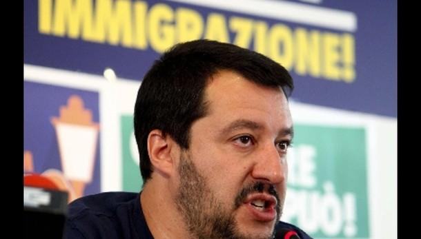 Salvini, Boldrini nega caos immigrazione
