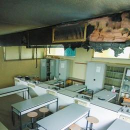 Trescore, laboratorio off limits dopo il rogo che ha bloccato gli esami