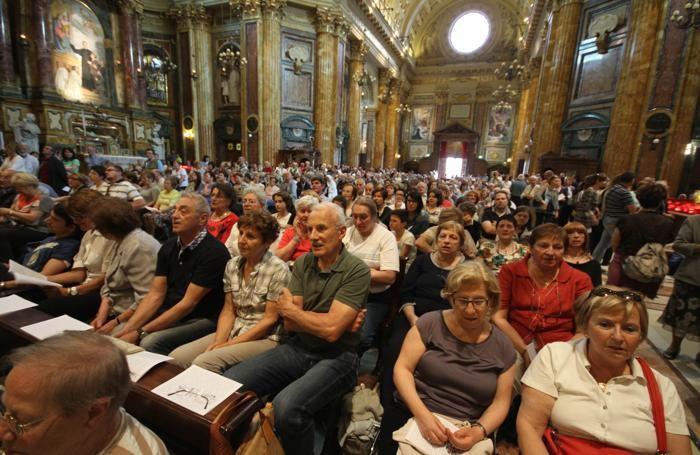 Torino, visita alla Sacra Sindone