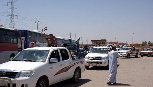 A Tikrit governo riapre uffici pubblici