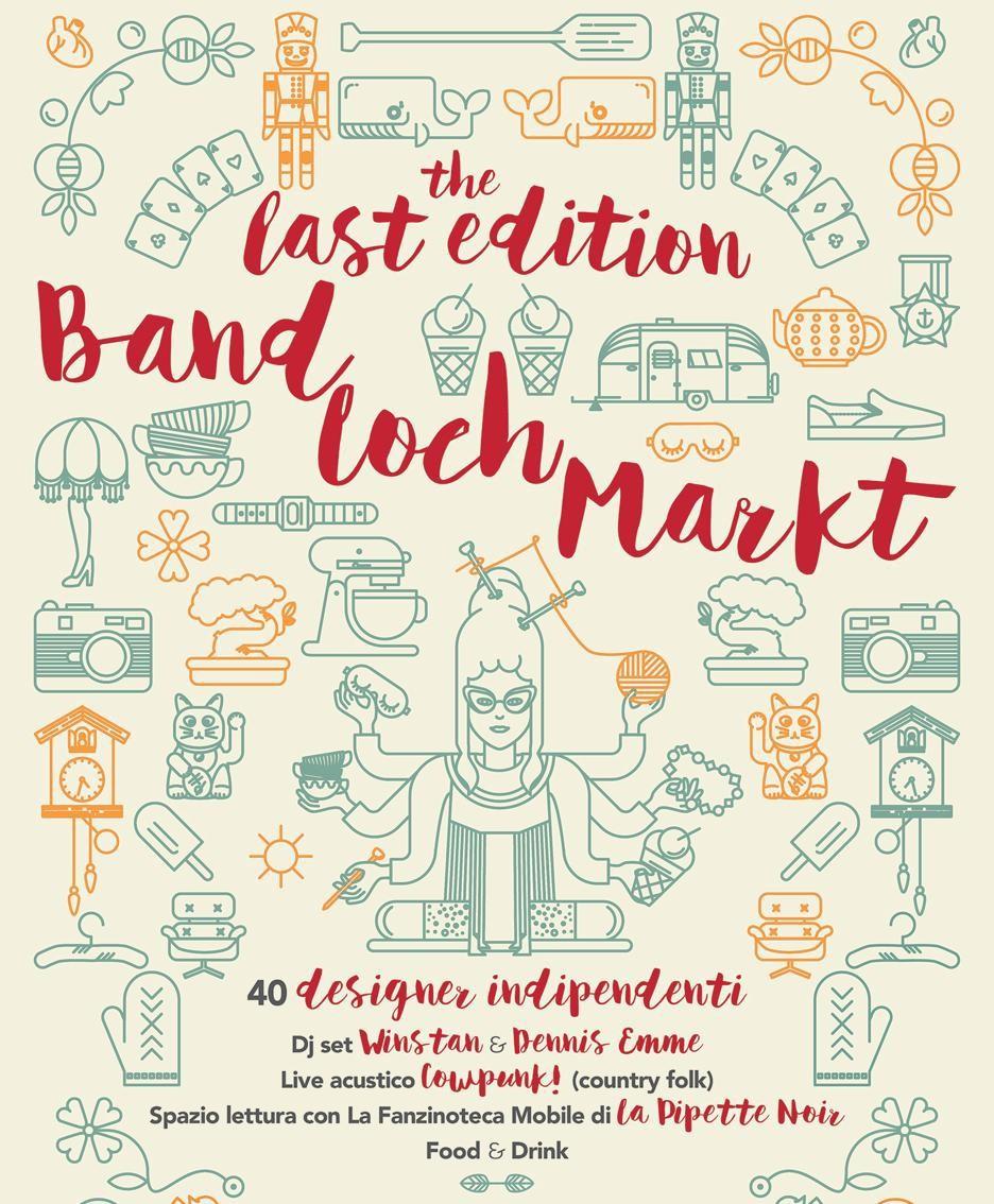 La locandina del Band Loch Markt