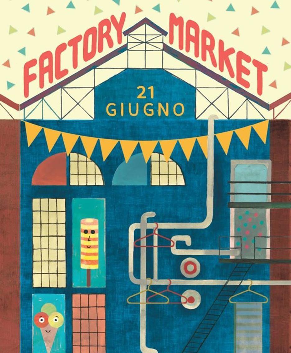 La locandina del Factory Market