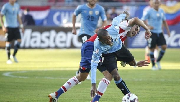 Coppa America: Uruguay-Paraguay 1-1